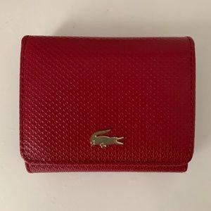 Lacoste Chantaco Piqué Leather Wallet